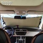 Hansi car windshield window retractable sun shade honeycomb blinds