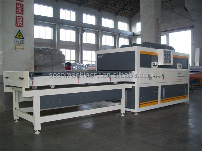 vacuum membrane press machine for door and furniture laminaitng with pvc venner