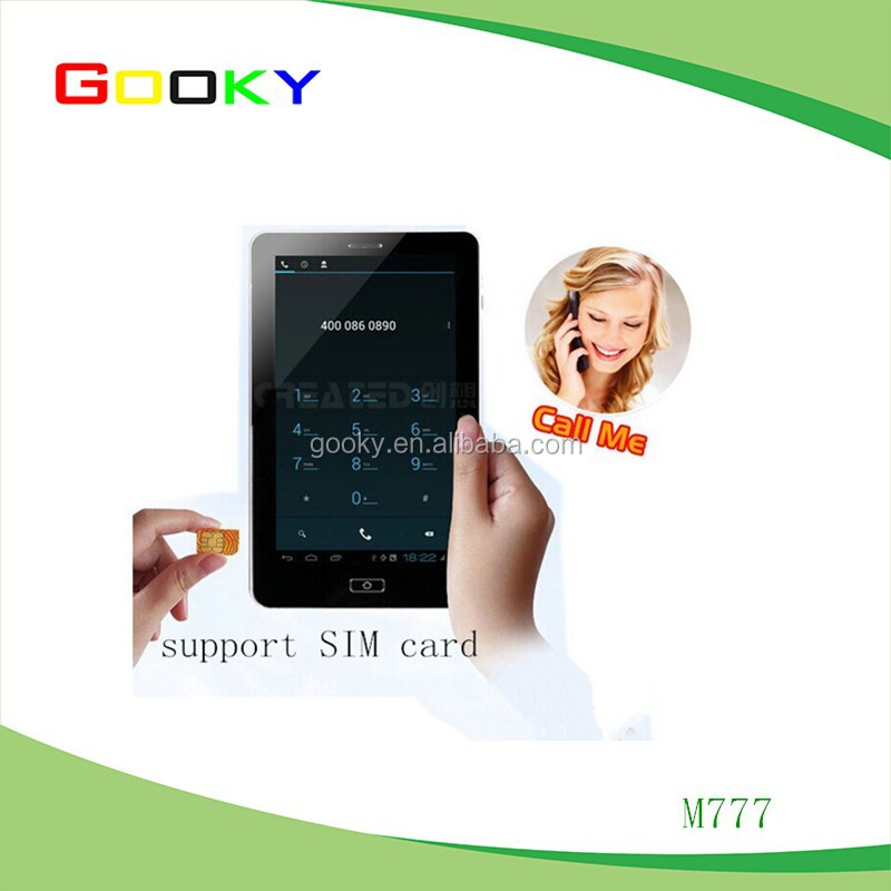7 inch 2G android tablet cheap tablet phone tablet pc with keyboard and sim card