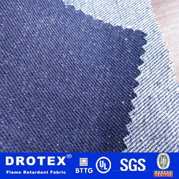 Heavy Weight Fire Retardant HRC2 Denim Fabric Supplier/Manufacturer/Factory