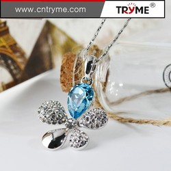 2015 trends jewelry amazing large chunky crystal metal necklace trend fashion europe jewelry