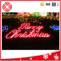 Merry Christmas motif rope light