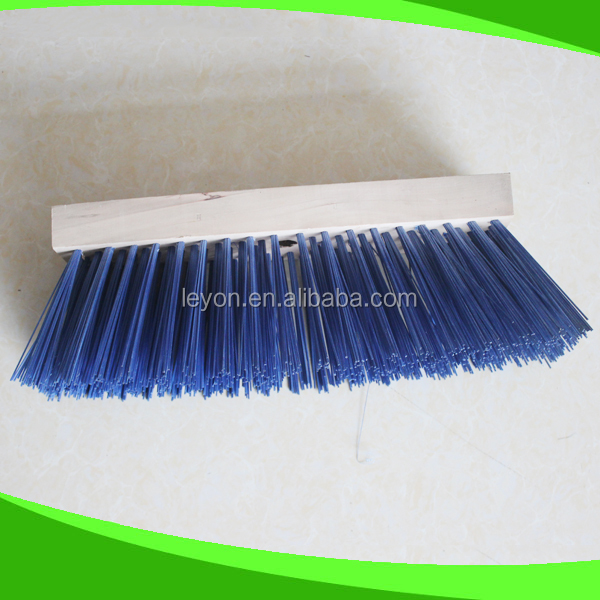 Durable Broom Parts with PVC Bristle And Wooden Block