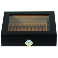 High Quality Spanish Cedar Wooden Promotional Travel Cigar Humidor