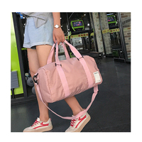 Waterproof Gym Bag with Shoe Compartment tote sport duffer bag
