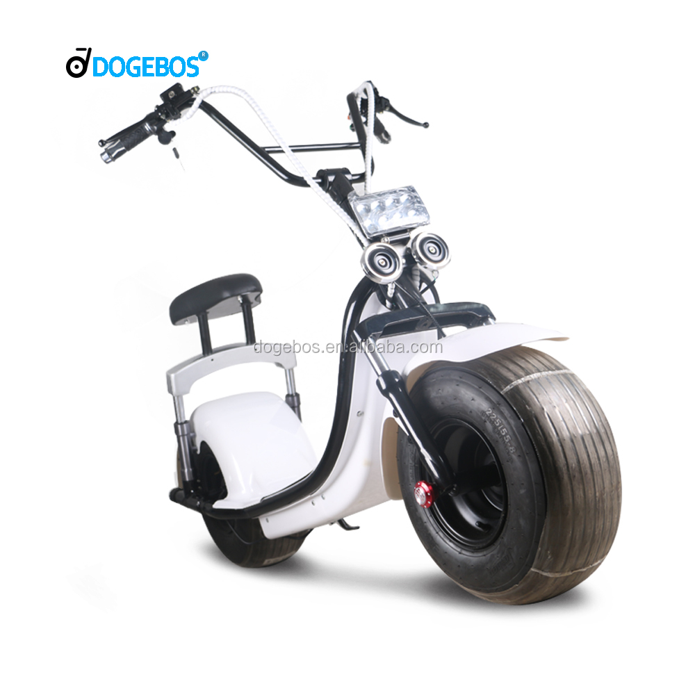 factory price 60V 12AH lithium battery new style kids scooter with fat tire
