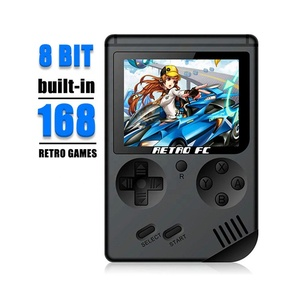 2018 Hot Mini Handheld Game Consoles - Portable Retro Mini Game Console, LCD 3.0 Inch Screen Built-In 168 Game Free Shipping DHL