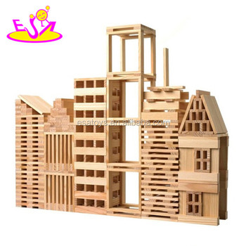 New Kids Wooden Building Blocks Toycreative Children Wooden Toy