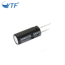High Quality Competitive Price Free Samples for 220uf 450v Aluminum Electrolytic Capacitor 25*50/30*35/40 In China