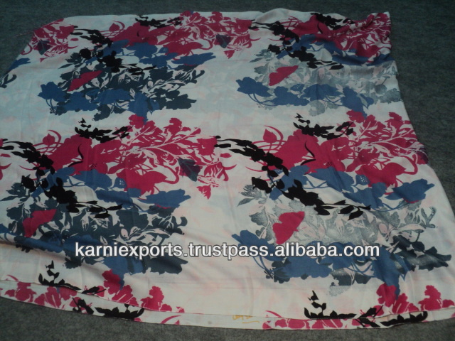 FABRICS FOR MAKING GARMENTS FOR LADIES & PAREOS IN POLYESTER BLEND 100% POLYESTER FABRIC COTTON MIXED