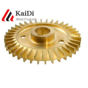precision casting high quality water pump brass impeller