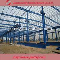 Design Economic and Durable Light Steel Grid Structure Wharehouse home Building