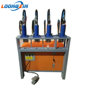Rotary types hydraulic press of paper punching machine