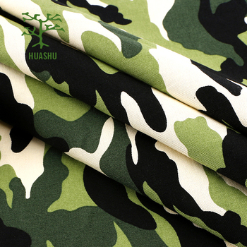 High quality factory price military camo army cotton fabric