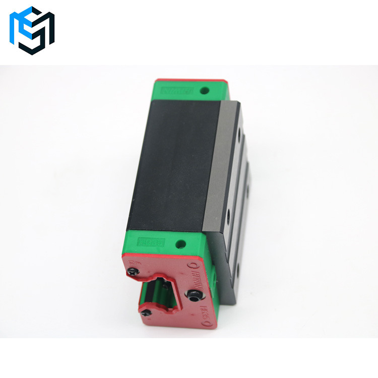 HIWIN HGH linear guide rail bearing and slide block linear motion guide