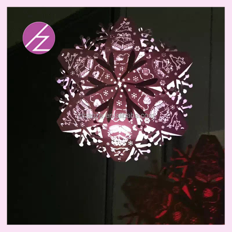 wedding paty supplies laser cut pearl paper craft 3D star