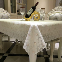 2016 high quality lace vinyl tablecloth wholesale
