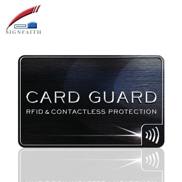Custom Printed 13.56MHz Plastic PVC Smart Business RFID NFC Card