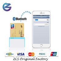 New arrival Bluetooth Chip Card/Magnetic Card/NFC Card Reader iMixPay-BL 3 in 1 card reader POS