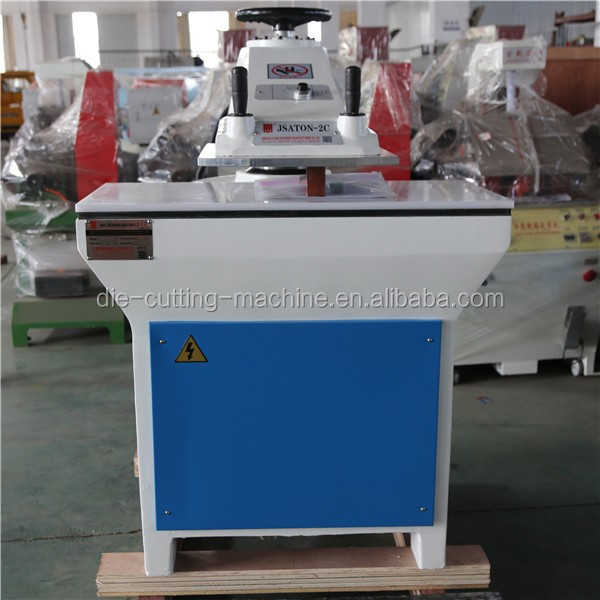 25t swing arm football making machine for leather cutting