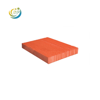 Paper corrugated photocatalyst filter media deodorizing filter