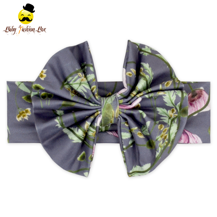 FDK294-2 Yihong Big Bow Turban Headband Butterfly Hair Accessories Sparkle Hair Bow Hair Accessories