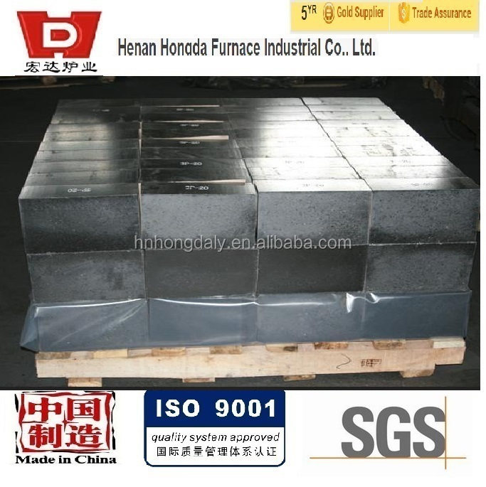 eaf basic wroking layer refractory bricks