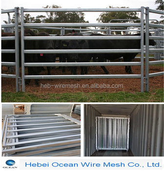 Heavy Duty 12 Foot By 6 Foot High Used Horse Corral Panels