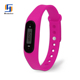 Newset Silicon Wristband Walking Calorie Counter Waterproof Pedometer