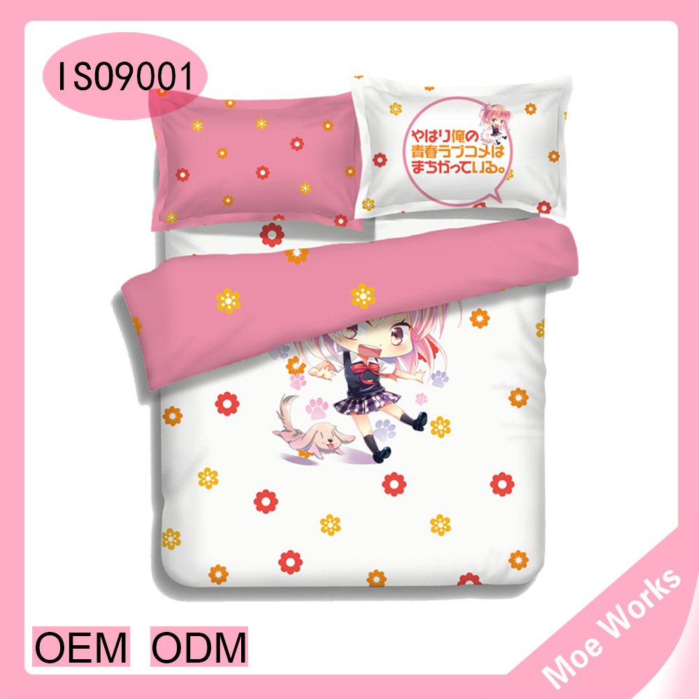 Yuigahama Yui Bed Sheet/Duvet/Duvet Cover kids cartoon bed sets