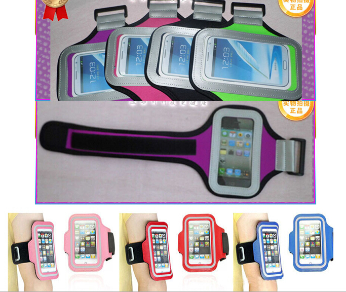 Waterproof Sports Running Armband Case Cell Mobile Phone Arm Bag Band Workout Holder Pounch for Iphone 6 iphone 4 4S 5 5G 5C 5S