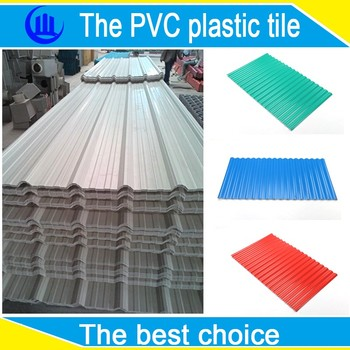Light Weight Pvc Roof Sheet Full New Pvc Material Roof
