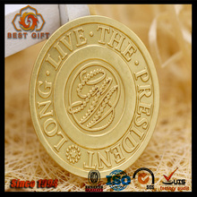 Competitive price old gold custom challenge coins for souvenir
