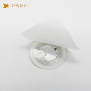 NEWMAX Free Sample Security Anti-theft UHF passive rfid cd dvd label sticker