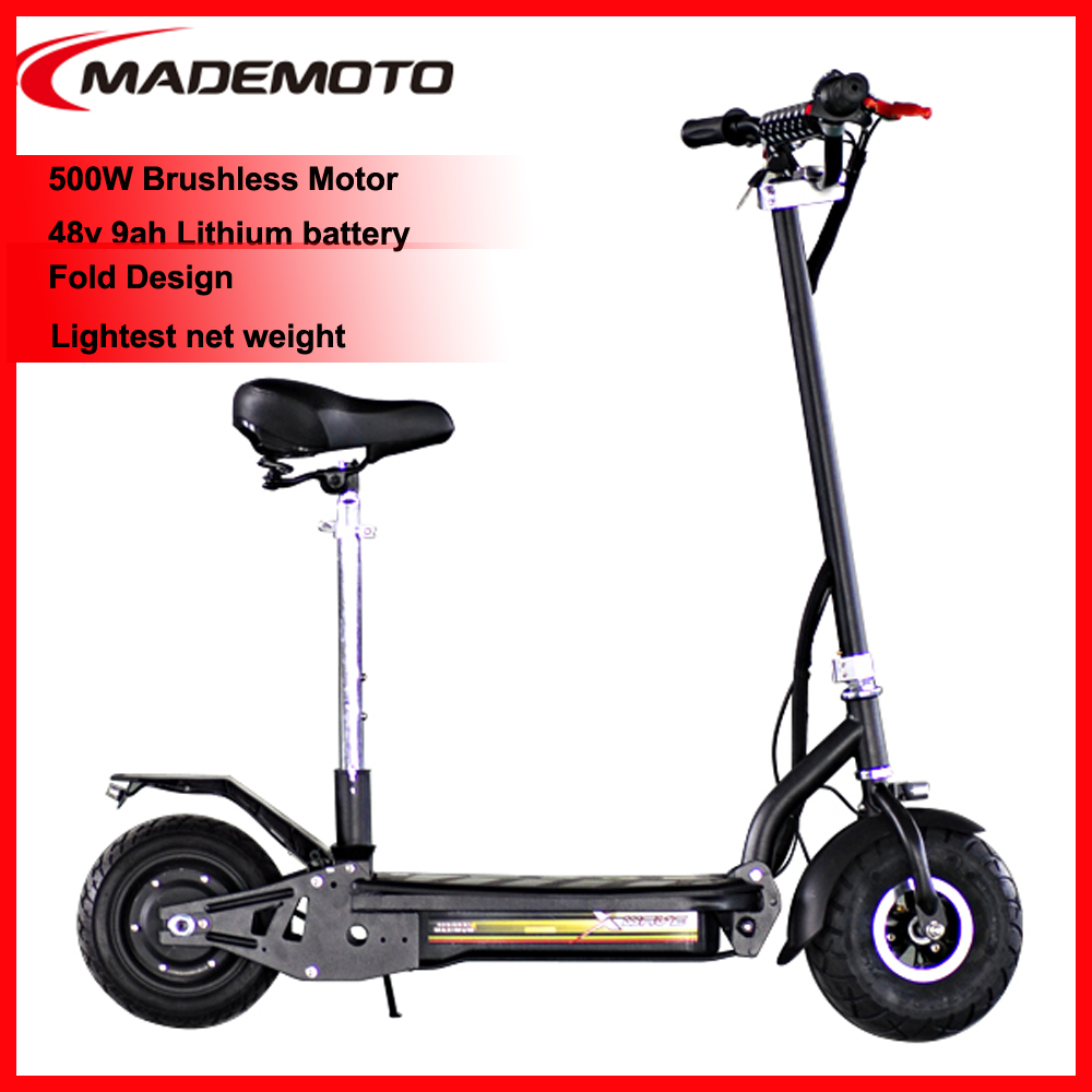 Electric Scooter 5000w Lithium with front and rear disc brake