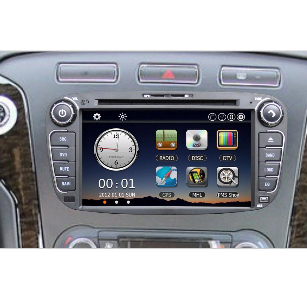7 car dvd player gps navigation in dash car radio double. Black Bedroom Furniture Sets. Home Design Ideas