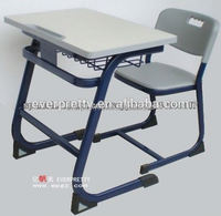 School Chair With Writing Board Furniture ,New Design Reading And Writing Chair,School table and Chair for Student