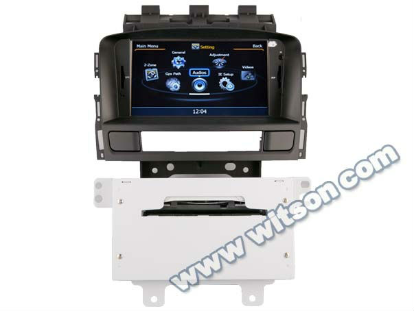 WITSON OPEL ASTRA J car dvd monitor with Split-screen Image Function