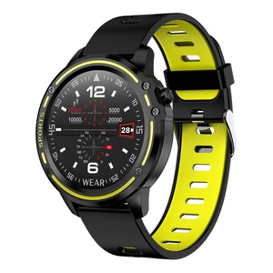 Image of 2019 Men Clock Smartwatch L8 Smart Watch IP68 Waterproof Heart Rate Monitor Blood Pressure Fitness Tracker For Android IOS
