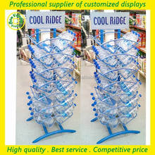 supermarket and chain store metal holders 5 gallon water bottle display stand