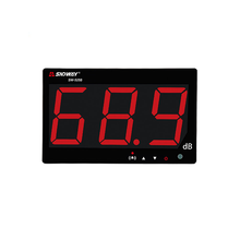Digitale Geluidsniveau Meter 1 Jaar Data <span class=keywords><strong>Opslag</strong></span> 30 to130dB LCD Muur Opknoping Type Sound Level Meter