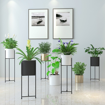 Metal indoor Plants Stand Flower Pot Plant Shelf for Garden