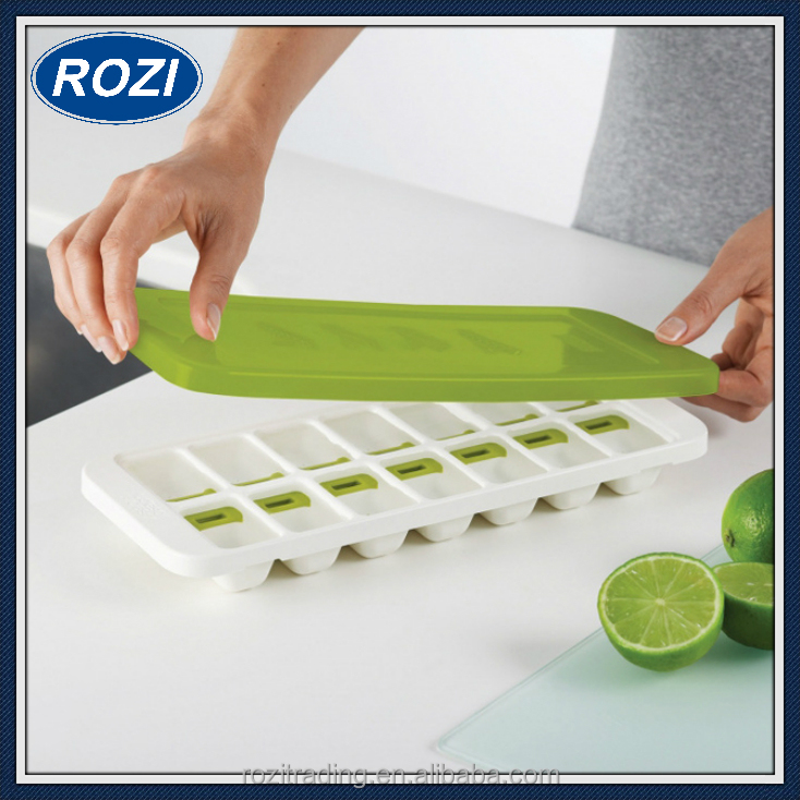Silicone Small Ice Cube Tray for Cocktails with Lid