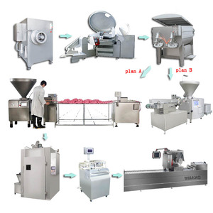 Commercial sausage filler machine / sausage making machine / vacuum sausage stuffer filling machine