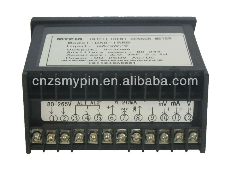 4 Load cells input RS232 weight indicator (LM8-IR2D)