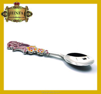 china craft fatory pop cheap souvenirs tourist multifunctional spoon