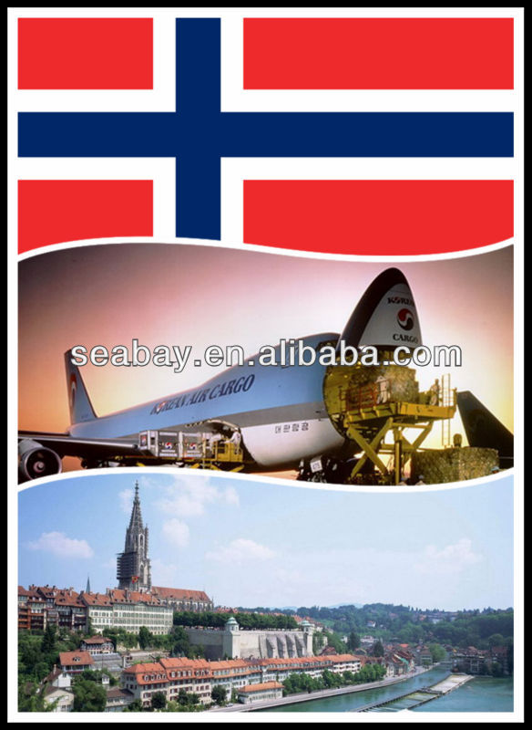 Air Freight from China to Oslo, Norway