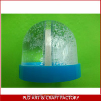 High quality 3d plastic water snow globe ,picture snow globe