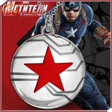 The new captain America sell like hot cakes Winter soldier necklace The avengers alliance speed sell tong