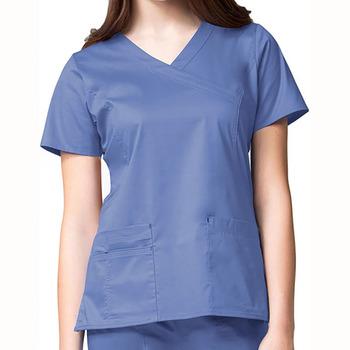 Women Fashionable Nurse Uniform Designs Europe Medical Scrubs Suit